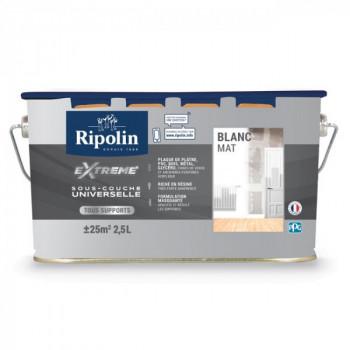 Sous-couche Ripolin universelle extrême mat blanc 2,5 L