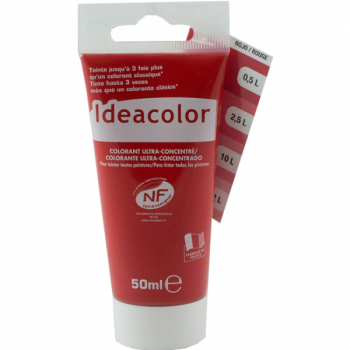 Colorant Idéacolor ultra concentré rouge 50 ml