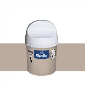 Peinture testeur Ripolin Esprit Déco Murs, plafonds, boiseries et radiateurs bleu madura satin 750ML