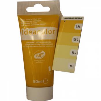 Colorant Idéacolor ultra concentré jaune 50 ml