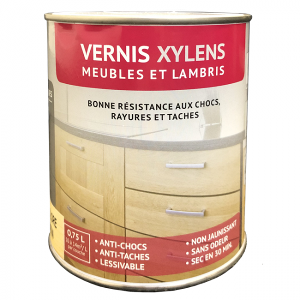 Vernis Xylens spécial lambris aspect...