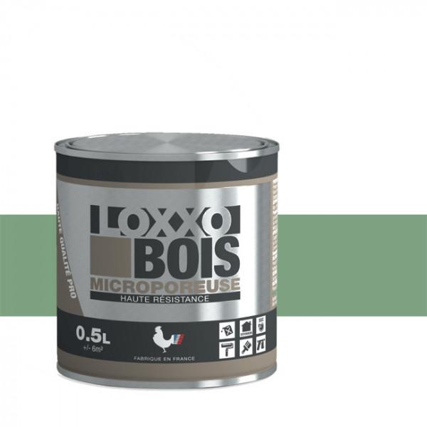 Peinture LOXXO bois vert pâle satin 0.5L