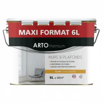 Sous-couche Arto Premium acrylique mate blanche 6L