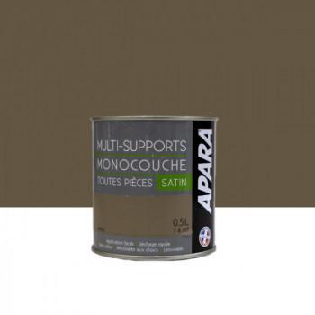 Peinture Apara multi-supports  Murs, plafonds, boiseries, plinthes...  beige argile satin 0,5L