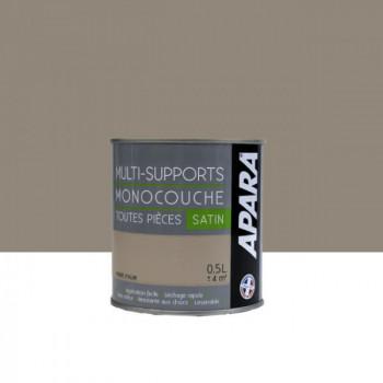 Peinture Apara multi-supports  Murs, plafonds, boiseries, plinthes...  beige pierre d'alun satin 0,5L