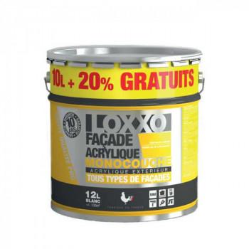 Peinture Loxxo façade pierre 12L + 20% gratuit