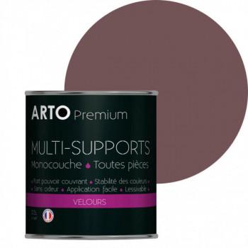 Peinture arto premium multi - supports murs, plafonds, boiseries, plinthes et radiateurs cœur orchidée velours 0,5 L