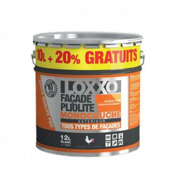 Peinture Loxxo façade pliolite blanc 10L + 20% gratuit.