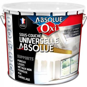 Sous-couche Oxitol Absolue universelle blanc mat 10L
