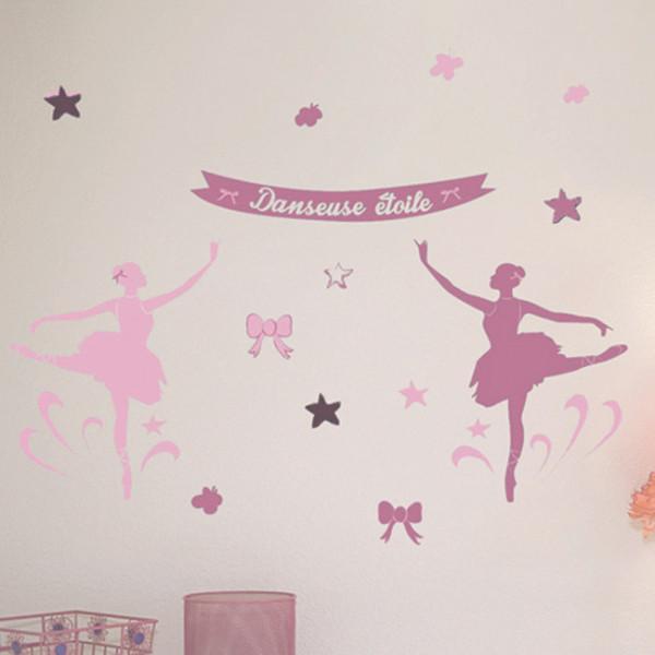 Stickers danseuses étoiles