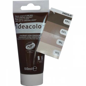 Colorant Idéacolor ultra concentré chocolat 50 ml