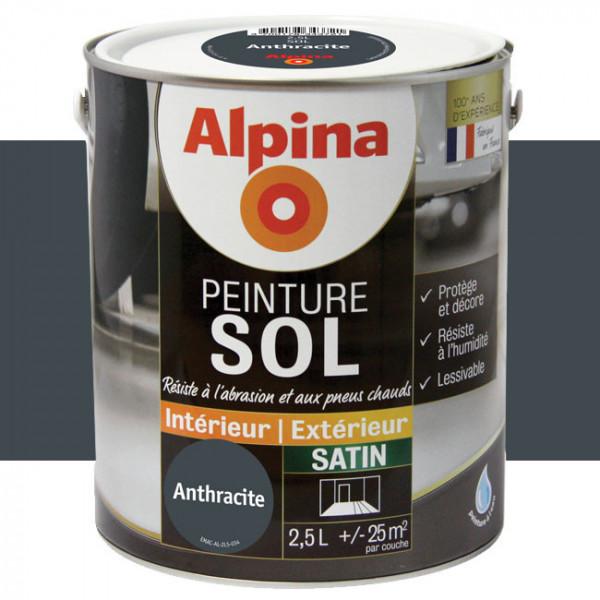 Peinture alpina spéciale sol...