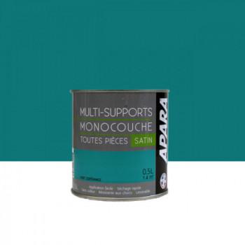 Peinture Apara multi-supports  Murs, plafonds, boiseries, plinthes...  vert espérance satin 0,5L