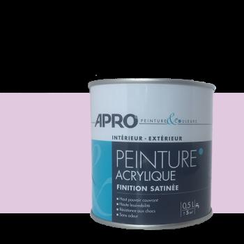 Peinture Apro multi-supports Murs, plafonds, boiseries, plinthes… parme satin  0,5 L