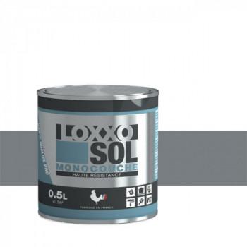 Peinture Loxxo spéciale sol télégris brillant 0.5 L