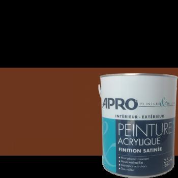Peinture Apro multi-supports Murs, plafonds, boiseries, plinthes… chocolat satin  2,5 L