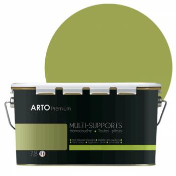 Peinture Arto Premium multi-supports Vert Tropical satin 2,5L
