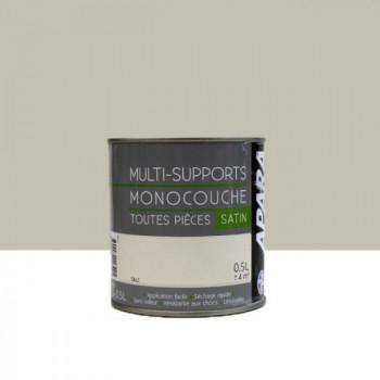 Peinture Apara multi-supports  Murs, plafonds, boiseries, plinthes...  beige talc satin 0,5L