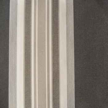 Toile transat rayures grises 320 cm