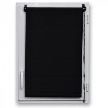 Store enrouleur occultant noir 60 x 180 cm