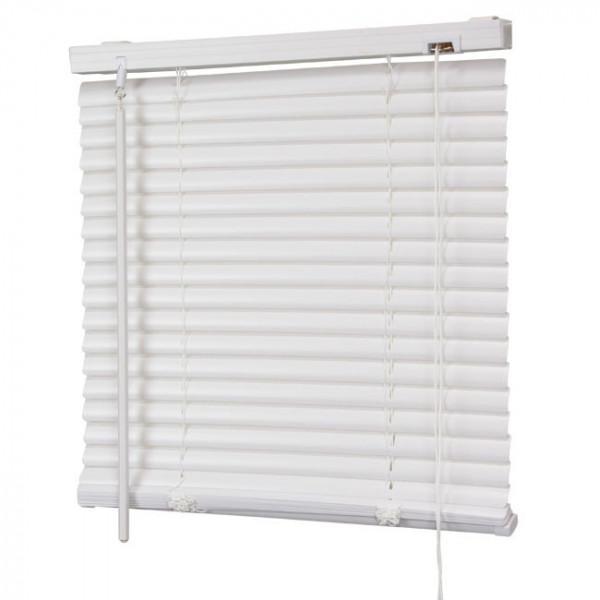 Store vénitien PVC blanc 40 x 130 cm