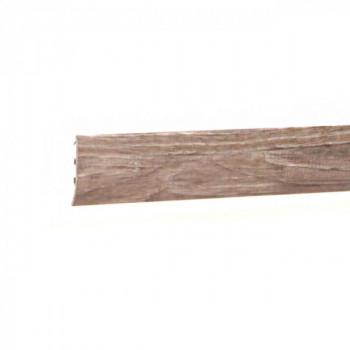 Barre de seuil à clipser pin blanchi 41 mm x 83 cm