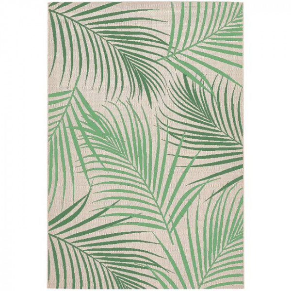 Tapis motif végétal 120 x 180 cm