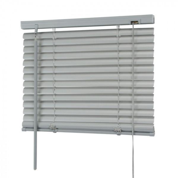 Store vénitien PVC gris 90 x 180 cm