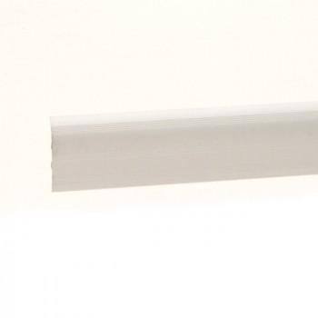 Barre de seuil à clipser aluminium naturel 41 mm x 83 cm