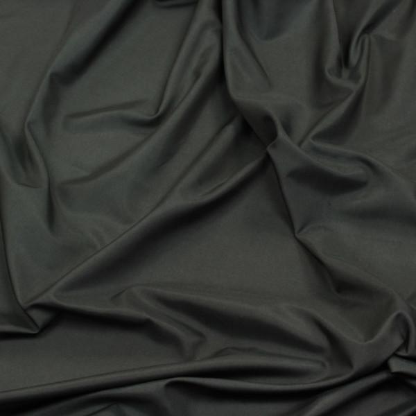 Tissus satin uni noir 140 cm