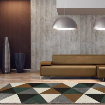 Tapis motif géométrique 160 x 230 cm