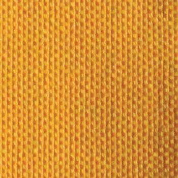 Tissu natté uni effet chiné jaune140 cm