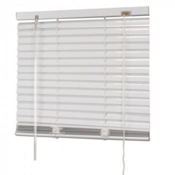 Store vénitien aluminum blanc 90 x 130 cm