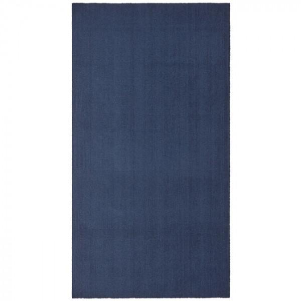 Tapis Uni bleu 60 x 115 cm