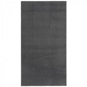 Tapis uni gris 60 x 115 cm