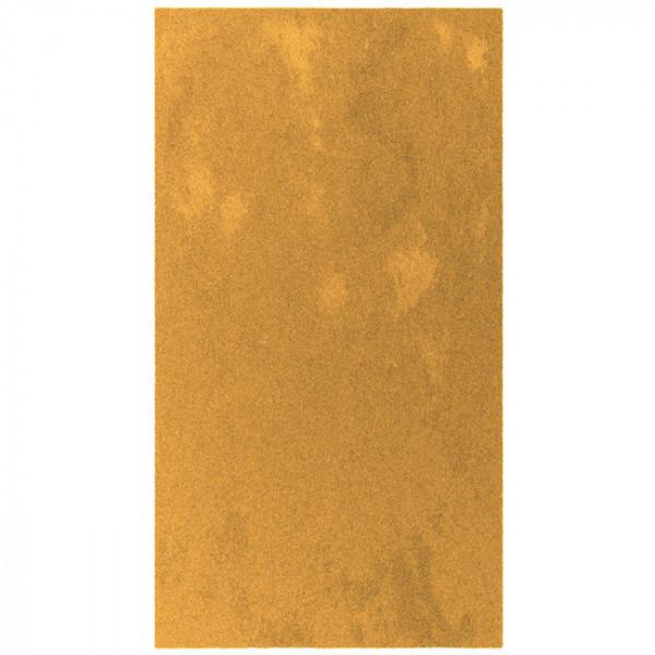 Tapis Uni moutarde 60 x 115 cm