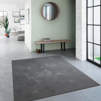 Tapis Uni gris 200 x 290 cm