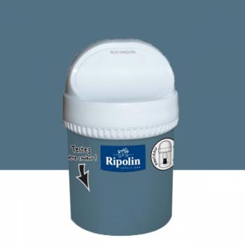 Peinture testeur Ripolin Esprit Déco Murs, plafonds, boiseries et radiateurs baton de réglisse satin 750ML