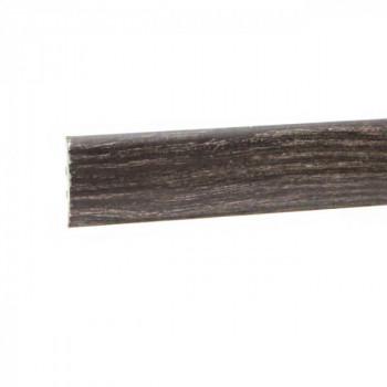 Barre de seuil à clipser chêne cérusé doré 41 mm x 83 cm
