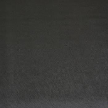 Tissu simili cuir noir 140 cm