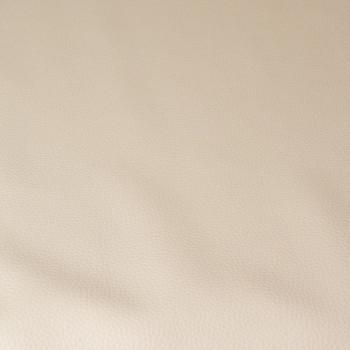 Tissu simili cuir beige 140 cm