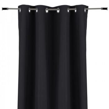 Rideau tissu 100% occultant noir