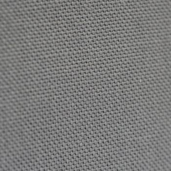 Tissu demi-natté uni gris souris 280 cm