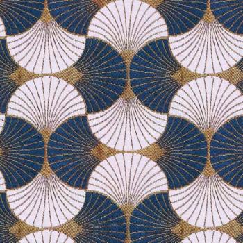 Tissu jacquard style art déco 140 cm