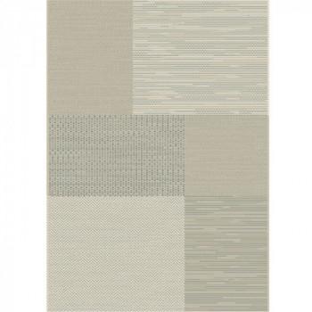 Tapis géométrique gris 160x230 cm