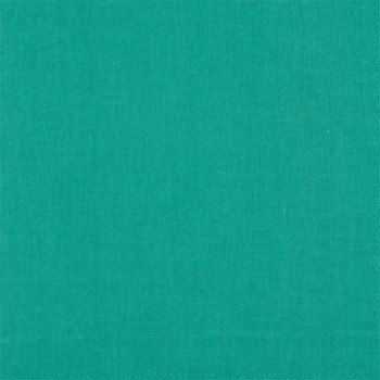 Tissu cretonne uni emeraude 150 cm
