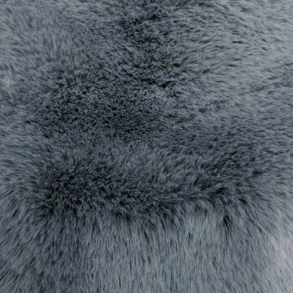 Tissu imitation fourrure Doudou gris...