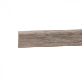 Barre de seuil à clipser chêne chartreuse 41 mm x 83 cm