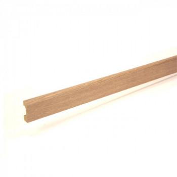 Plinthe chêne umbra 14 mm x 50 mm x 240 cm