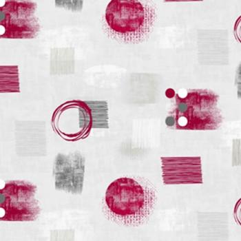 Toile cirée dessins prunes 160 cm